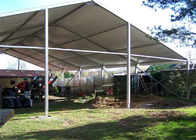 Aluminum Structure Material Industrial Warehouse Tent Flame Retardant Cutom Size