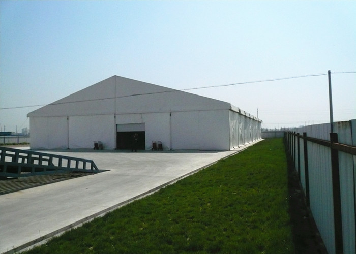 Heavy Duty Clear White Wedding Marquee Tent With Air Conditioner Sun Proof