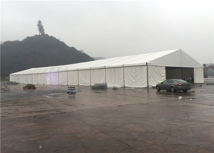 20x50m Temporary Outdoor Garage Warehouse Tent Portable Removable White Color